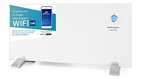 Orbegozo REW 1500 - Panel radiante digital Wi-Fi, 1500 W, pantalla digital LCD, programable, conexión inalámbrica mediante Orbegozo APP