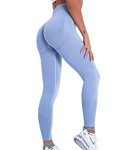 KIWI RATA Leggings Push up Mujer Fitness Mallas Pantalones Deportivos de Cintura...