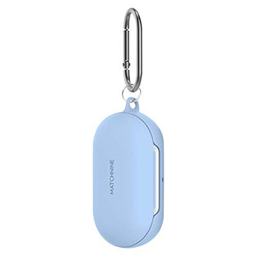 juman634 Estuche de Silicona con Tapa para Auriculares para Samsung Galaxy Buds 2019 Funda Impermeable de protección contra caídas con mosquetón