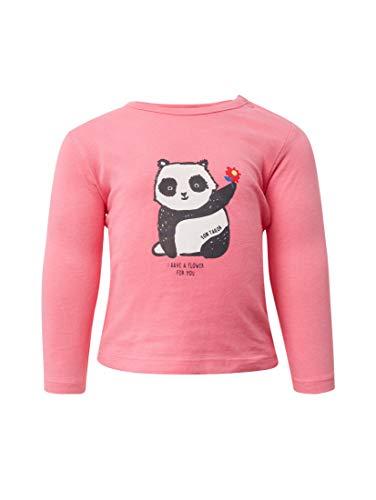 TOM TAILOR Kids T-Shirt Placed Print Camisa Manga Larga para Bebés