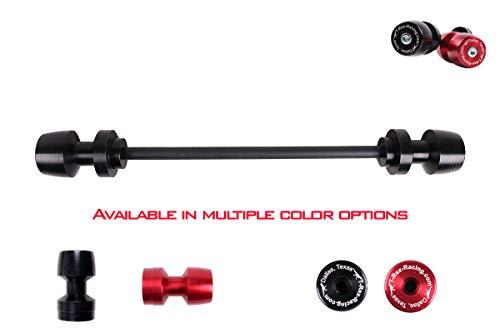 T-Rex Rear Axle Sliders for Ducati 1098/1198 / Multistrada/Monster/Diavel/Panigale/Supersport - Black