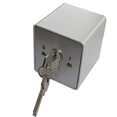 Schlüsselschalter 230V rastend APB 1-1R, Torsteuerung, Absicherung von Motoren