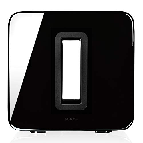 Sonos Sub Subwoofer Wireless, Integrabile ai Sistemi Sonos, Nero...