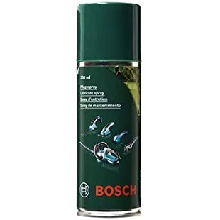 Bosch 1609200399 Lubricant Spray for Cleaning and Caring for Your Garden Tools, 250 ml