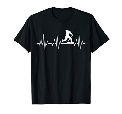 Feldhockey Fieldhockey Hockey Spieler Herzschlag EKG T-Shirt