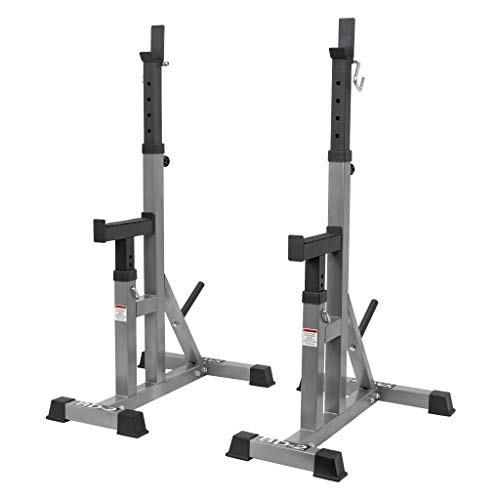 Valor Fitness BD-2 Independent Bench Press Stands with Adjustable Uprights and Safety Catches
