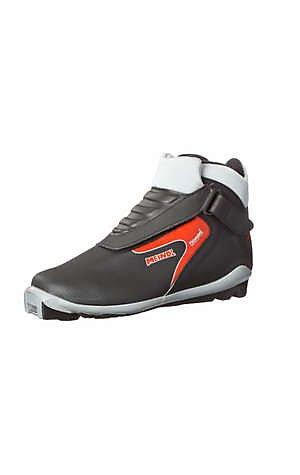Meindl Chaussures de Ski de Fond, Noir/Rouge, 42