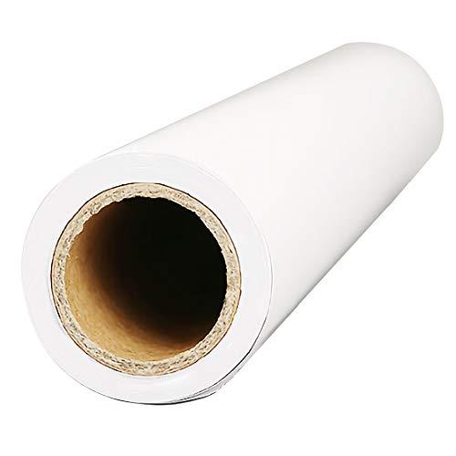 Rouleau de Papier à Dessin Blanc, Papier Doodle 10m*22.5cm Papier d'esquisser Papier à croquis pour Peinture project de construction
