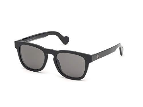 Moncler ML 0098 01A - Gafas de sol, color negro y ahumado
