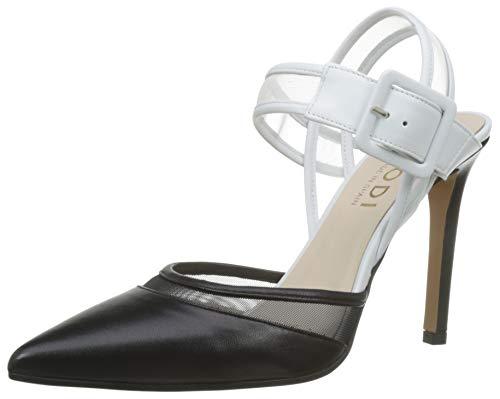 lodi VERAX-MUL, Zapatos con Tacon y Correa de Tobillo para Mujer, Glove Negro, 39 EU