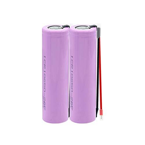 yfkjh Baterías recargables de 3.7 V 18500 2500 mAh, baterías de iones de litio para e-Bike llevó la linterna de la antorcha de la lámpara 4 piezas