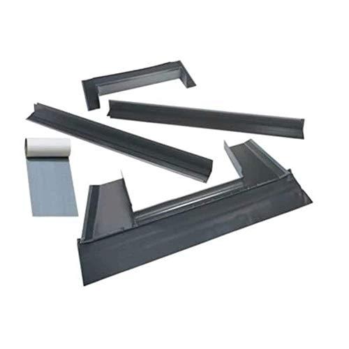VELUX EDM C06 0000B Skylight Flashing, C06 Metal Roof Kit w/Adhesive Underlayment for Deck Mount Skylights