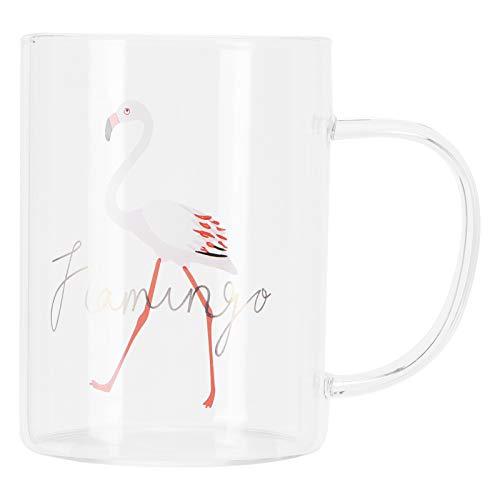 Taza de leche transparente de 350 ml, taza de café, té, bebida, vasos, artículos para el hogar, suministros para la tienda