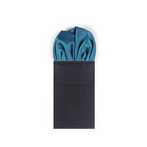 Unbekannt LXF Taschentücher Pocket Square Herren Anzüge Marry Truhe Handtuch Convenience Taschentuch (24 * 24cm) (Color : #1)