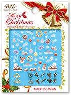 クリスマスネイルアートシール MCM-01 スノードーム