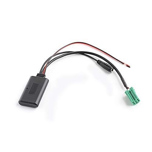 KKmoon Auto Audio Adapter AUX BT Adapter AUX-IN ISO 6pin vervanging voor Renault Radio Updatelist Ohne Mikrofon