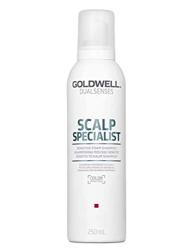 Goldwell Dualsenses Scalp Specialist Sensitive Foam Shampoo, 1er Pack, (1x 250 ml)