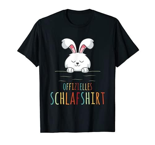 Häschen Kaninchen Offizielles Schlafshirt Hasen Nachthemd T-Shirt