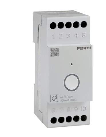 PERRY ELECTRIC - 1IOIAWF0102 INTERRUTTORE ORARIO ASTRONOMICO WI-FI 2 DIN