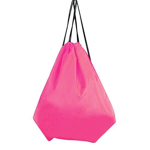 Demarkt - Bolsa de Deporte, Mochila Seca y húmeda, Impermeable, con cordón, 1 Unidad, Color Rosa, tamaño 43 * 34CM