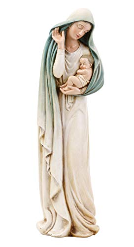 Joseph's Studio by Roman - Madonna with Child Figure, Renaissance Collection, 12' H, Resin and Stone, Religious Gift, Decoration, Collection, Durable, Long Lasting