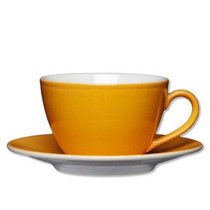 1x Milchkaffe-Tasse Inhalt 0,32 ltr - Aufbewahrung, Frischhaltedose