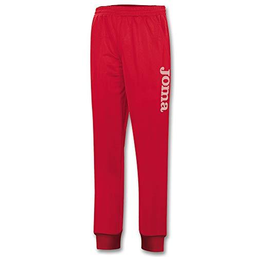 Joma Suez Pantalón, Hombre, Rojo, M