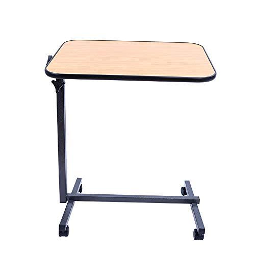 Folding table Klappbarer Esstisch, Nachttisch, klappbarer, kippbarer Schreibtisch, beweglicher Klapptisch, Studiertisch, geeignet für ältere Menschen und Patienten