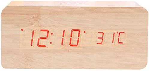 FEE-ZC Estación meteorológica Termómetro Digital para Interiores con Temperatura Que se Puede...