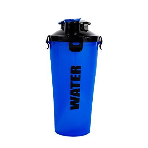 LSGMC Botella Coctelera Clásica De 700 ML, Portátil, para Exteriores,Azul