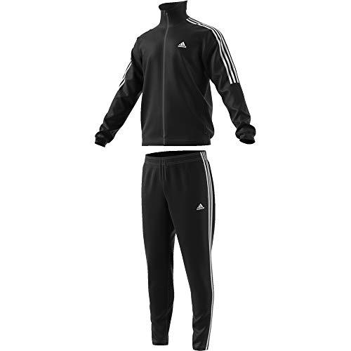 Adidas Tiro TS tuta, Uomo, UOMO, Tiro TS, negro (negro / blanco), S (4 IT)