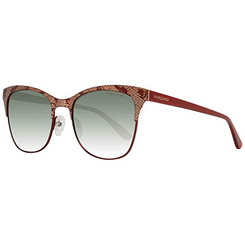 Guess GM0774 5370F by Marciano zonnebril GM0774 70F vlinder zonnebril 53, rood