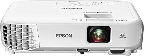 Epson Videoproyector Powerlite Home Cinema 760 HD, WXGA 3300 lúmenes blanco y color, 3LCD con HDMI /2X USB para Hogar Wi-Fi Opcional