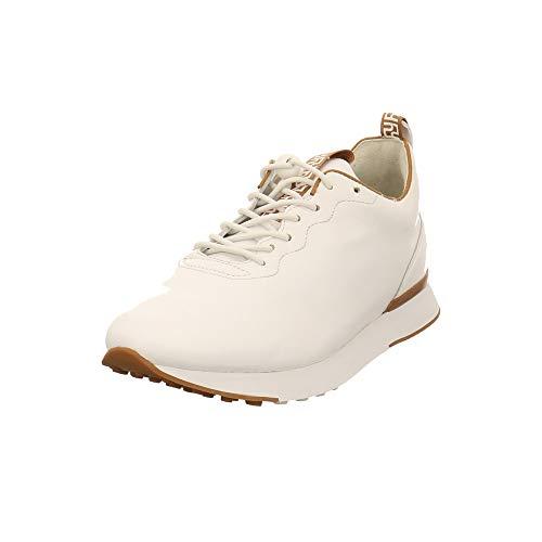 HÖGL Damen Arty Sneaker, Mehrfarbig (Weiss/Nougat 0225), 40 EU