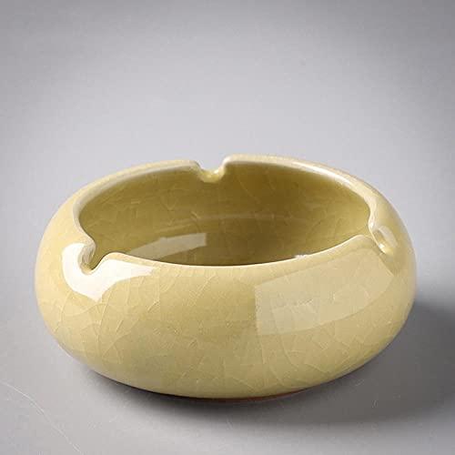 Cenicero Personalidad Hogar chino Hotel Oficina Tabaco Abrigo Cenicero de cerámica 12,8...