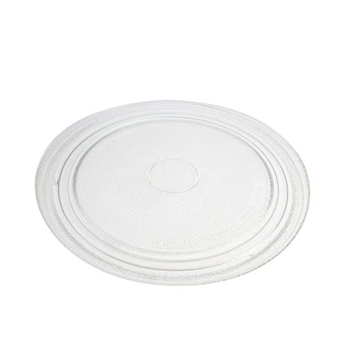 NTNT-A034WRE Microwave Glass Turntable Plate Replacement for Sharp R 209kk, Sharp R 216ls, Sharp R201, Sharp R202, Sharp R220kw, Sharp R221k, Sharp R230kk, Sharp R230kw, R290ns, Ntnt A034wrf0