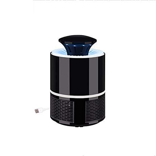 BAIYI USB-Fotokatalysator-Mückenvernichter Fliegenschutz-LED-Mückenvernichter-Lampe Für Den Haushalt Hochleistungs-Mückenvernichter,Black
