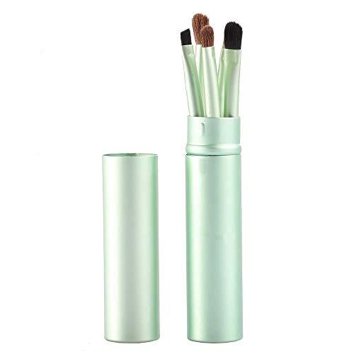 WATERMELON 5pcs Voyage Portable Mini Eye Set-Rose pinceaux de Maquillage Rose (Color : Green)