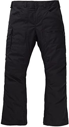 Burton Mens Covert Insulated Pant, True Black New, Medium