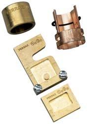 Mersen J136 Class J Rejection Fuse Reducer, 600V, 30 Ampere Fuse to Fit 100 Ampere Clip