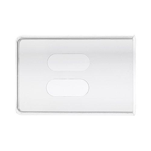 10 x Carte per kskeskin Trasparente per 2 carte - confezione doppia nauc