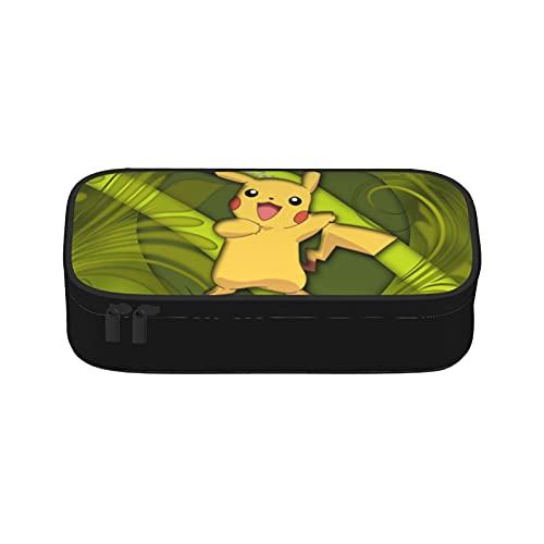Bolsas de maquillaje Pokemon de doble capa de viaje cosméticos casos de maquillaje organizador bolsas de aseo