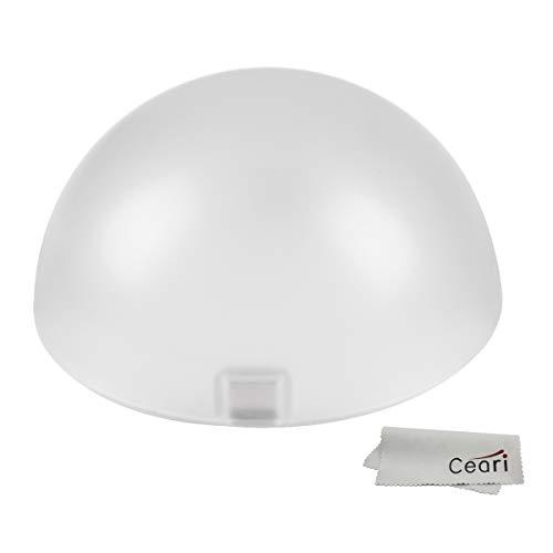 Godox AK-R11 Dome Diffusor, kompatibel mit Godox V1 Flash Series, V1-S, V1-C, V-1N, Verwendung mit Godox H200R Round Flash Head, AD200 Pro, AD200