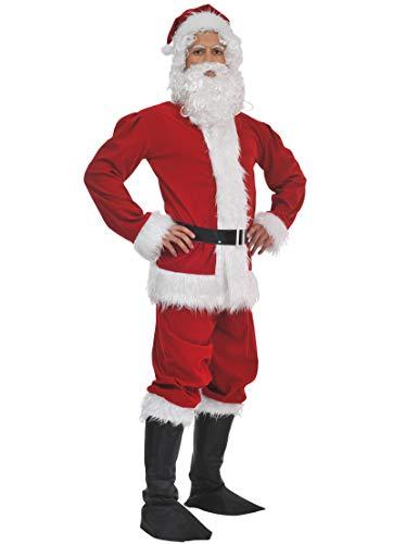chiber Disfraces Disfraz Papa Noel para Hombre