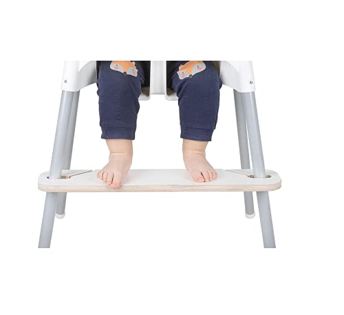RECKNEY Footrest for IKEA Antilop Baby Highchair - Personalized, Adjustable...