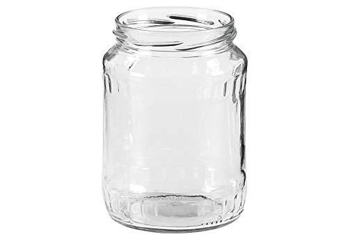 DOSEN-ZENTRALE Facetten-Glas 82 mm TO, H 13 cm720 ml Nennvol.