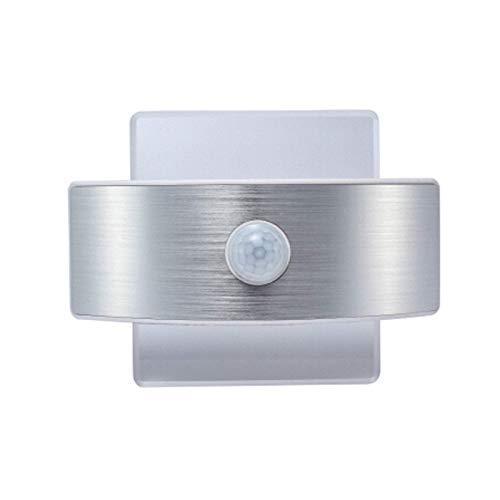 FEE-ZC LED Luces de Pared Inteligentes Lámpara con Sensor con Sensor de Movimiento Batería Apliques de Pared Lámpara Luz de Noche de inducción del Cuerpo Humano 2W Mini l