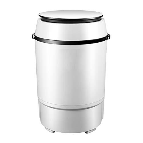 lavadora secadora Blu-ray De Una Sola Tina Mini Máquina De Lavado De La Lavadora De Viaje, La Capacidad De Lavado De 7,0 Kg Integrado, 260WW De Energía Doméstica Pequeña Lavadora Semiautomática Antiba
