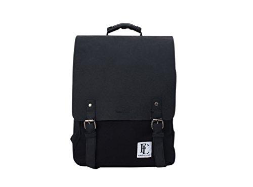 Forbes & Lewis Spring Summer 18 Casual Daypack, 44 cm, Black DEVON/C/01/01