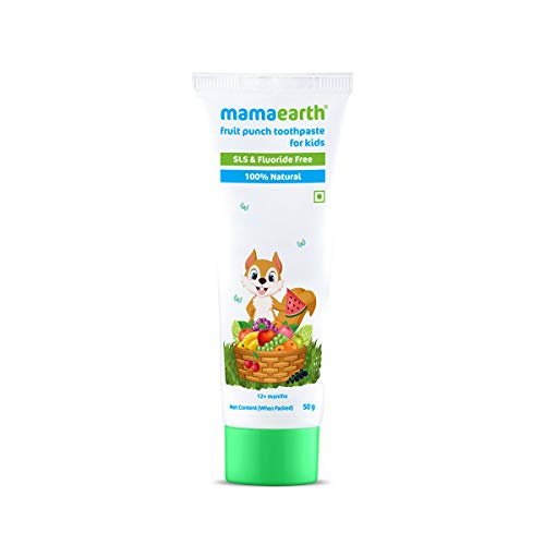 Mamaearth Fruit Punch Toothpaste for Kids - 50g